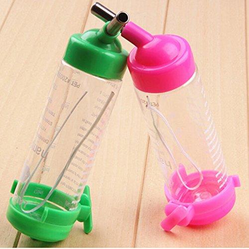 AOWA 2Pcs Hamster Water Bottle Holder Dispenser with Base Hut Hamster Nest Hot