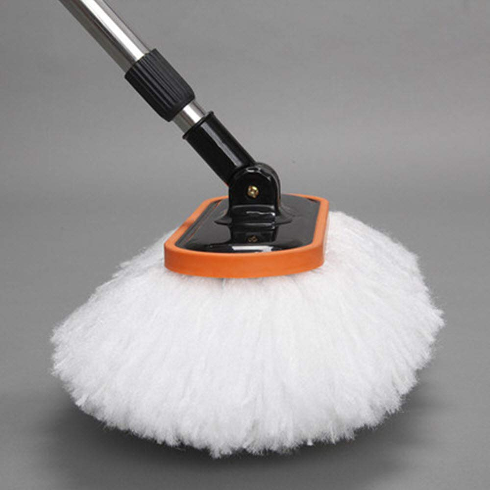 Car Cleaning Brush with Long Handle Best for Washing Your Car, Truck, RV, etc. - Extends 60'' Perfect for Hard to Reach Places by TB Anchor (Image #4)