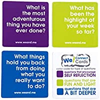 We! Connect Cards Icebreaker Questions Trust Building Games