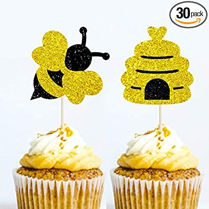 Cupcake Topper Daddy to Be Baby Shower Gender Reveal Party Cake Decoration Cupcake topper