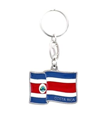 Amazon.com: Llavero bandera de Costa Rica: Shoes