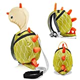 Toddler Backpack, Toddler Leash, Baby Leash, Safety Harness for Kids Harness Backpack with Hat for Boys & Girls, Toddler Anti-lost, Little Dinosaur