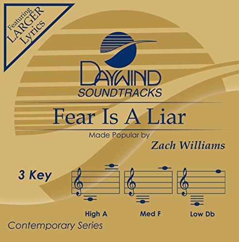 Accompaniment Track - Fear Is A Liar [Accompaniment/Performance Track]