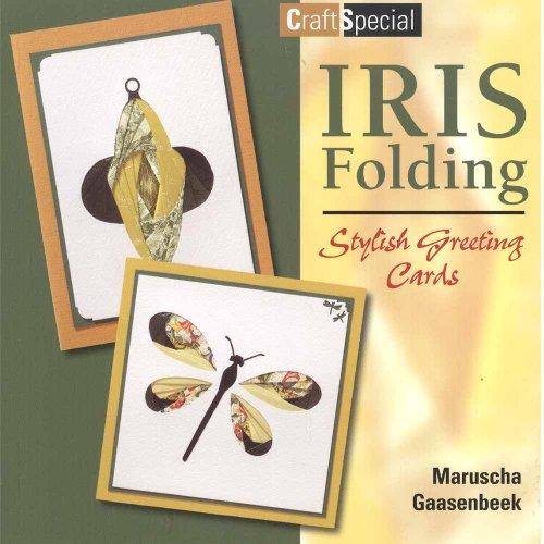 Iris Folding Stylish Greeting Cards - Iris Folding Book