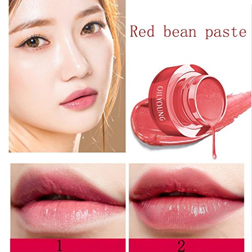 Womem Makeup Loveberry Lip Gloss Color Changing Flower Shiny Beauty Lipstick Moisturizing Long Lasting (A)