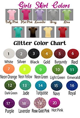 Amazon Aqua Jade Glitter Or Choose Colors Name Personalized