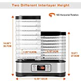 Food Dehydrator Machine, Digital Timer and