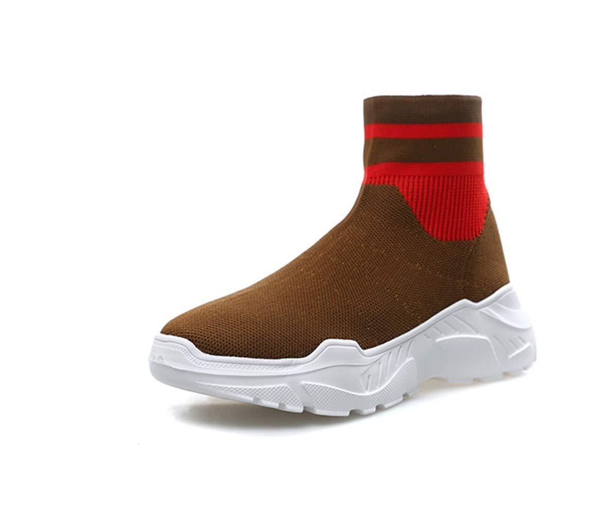 CXIGUA Sneaker Clunky Chaussettes Chaussures Femme Marron Forte pour Aider À Voler Respirant Élastique Tissée Marron Femme Chaussures Occasionnels Femmechon TélévisionB07HK9FD9QParent 8e2f04