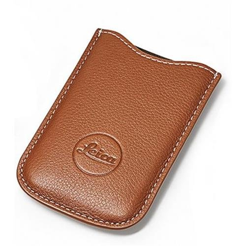Leica SD Card and Credit Card Holder, Leather, Cognac