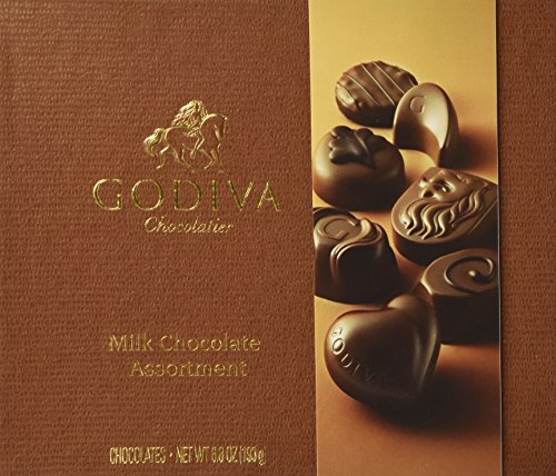 Godiva Small Milk Chocolate Assortment Gift Box