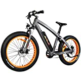 Addmotor MOTAN Electric Bikes Mountain Fat Tire 26 Inch Power Electric Bicycles 500W Motor 48V 10.4AH Lithium Battery All Terrain E-Bikes M-560 Snow Beach Ebikes for Adults