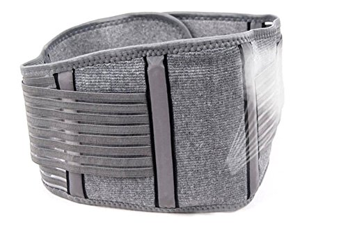 Zcargel Adjustable Elastic Bamboo Charcoal Fiber Medical Grade Exercise Brace,Double Pull Straps Lumbar Support Belt Brace,Lumbar Disc Herniation,Muscle Strain,Back Pain Protector for Women and Men by Zcargel (Image #2)