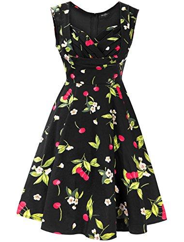 cherry retro dress - 9