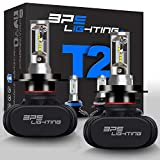 BPS Lighting T2 LED Headlight Bulbs Conversion Kit - H4 9003 HB2