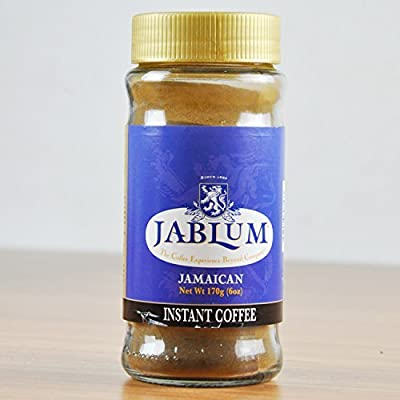 Jablum Instant Coffee 100% Blue Mountain Coffee 170g (6oz) by Mavis Bank Coffee Factory