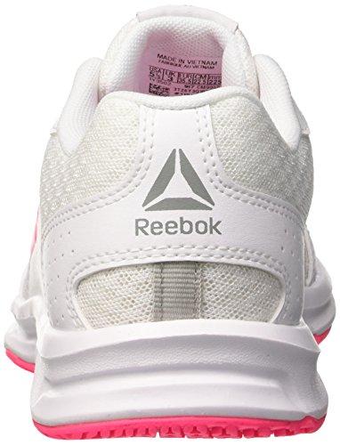 Blanco de White Running Mujer Express Pink Acid 000 Runner Silver para Reebok Zapatillas 4tp0xO
