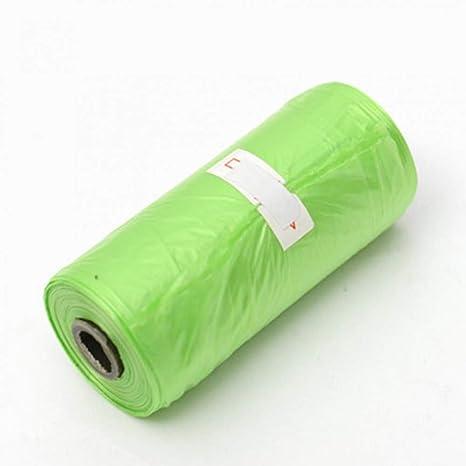 ZJDD Bolsa De Basura 1 Rolls Pet Waste Bag, 20L 15 Pack Dog ...