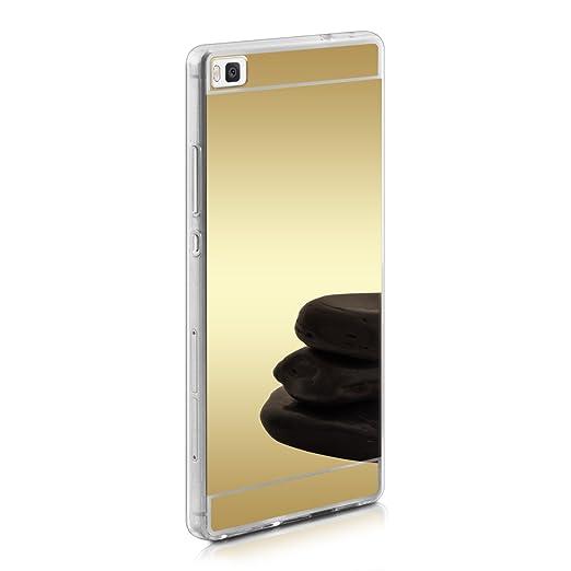 77 opinioni per kwmobile Cover per Huawei P8- Custodia in silicone TPU- Back case protezione