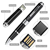 NexGadget Spy Pen & Hidden Record Camera with Pretty High Resolution 1080p, Real HD Voice Video & Image, Upgraded Battery, 32GB SD Card