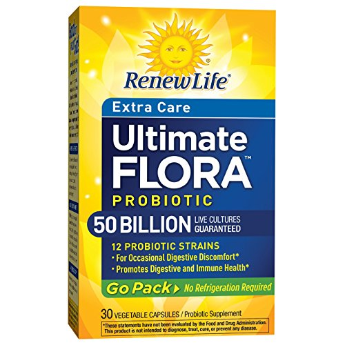 Renew Life Ultimate Flora Probiotic Extra Care 50