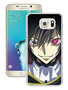Newest Samsung Galaxy S6 Edge Plus Case ,Popular And Beautiful Designed Case With Code Geass Lelouch Lamperouge Boy Brunette Different Eyes white Samsung Galaxy S6 Edge+ Screen Cover High Quality Phone Case