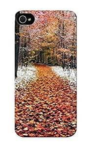 E5d02c46018 Case Cover Protector Series For Iphone 5/5s First Snow In The Forest Case For Lovers