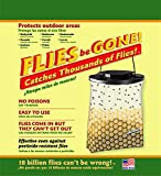 Flies Be Gone Fly Trap - Disposable Non Toxic Fly