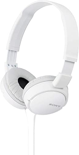 Sony MDR-ZX110 Overhead Headphones – White