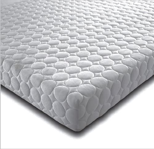 BEDZONLINE Memory Foam and Reflex Mattress with border micro quilted exclusive cover to 5FT KING