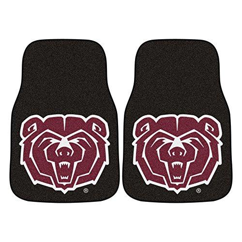 - FANMATS NCAA Missouri State (SW) Bears Nylon Face Carpet Car Mat