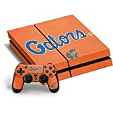 University of Florida PS4 Horizontal Bundle Skin - Florida Gators Orange Vinyl Decal Skin For Your PS4 Horizontal Bundle