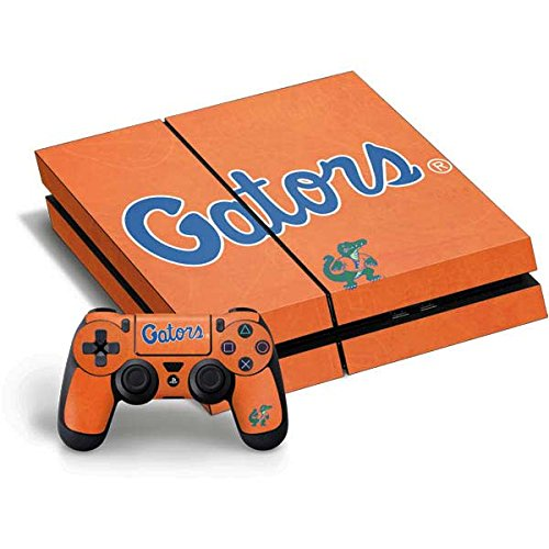 University of Florida PS4 Horizontal Bundle Skin - Florida Gators Orange Vinyl Decal Skin For Your PS4 Horizontal Bundle by Skinit