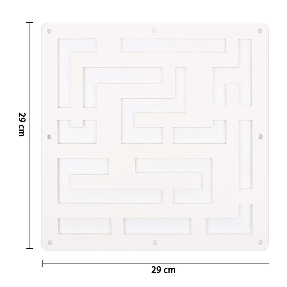 Y-Step - 12 separadores de Pantalla para Colgar en el hogar, Hotel, Oficina, Bar