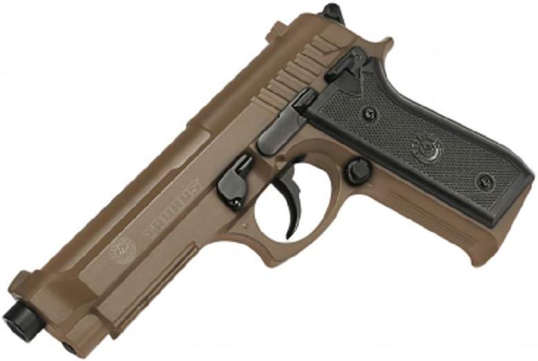 Cybergun Pistola Taurus PT92/M9Gefedert Junta de culata de metal color desierto Sistema Bax 0,5J