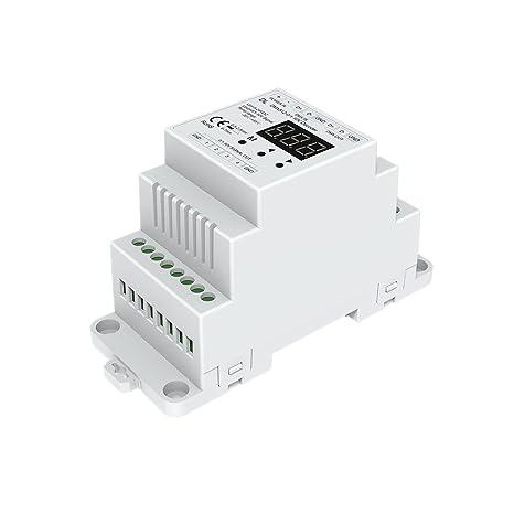Amazon.com: DMX512 to 4CH 0-10V Decoder 0-10V LED Dimmer DMX512 ...