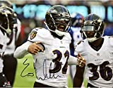 "Eric Weddle Baltimore Ravens Autographed 8"" x 10"" Celebrating Photograph - Fanatics Authentic Certified"