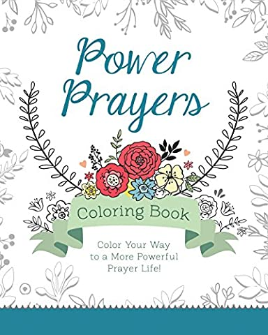 Power Prayers Coloring Book (Color Yourself Inspired) - Lords Prayer Craft