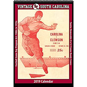 Amazon Com Vintage South Carolina Gamecocks 2019 College