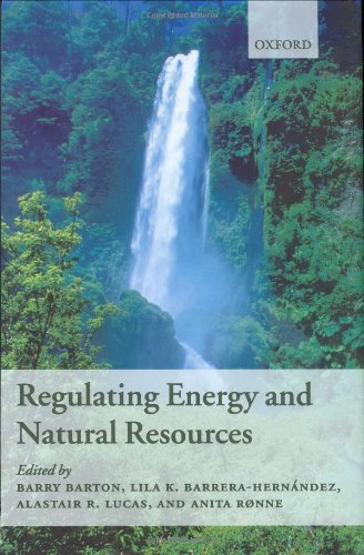 Regulating Energy And Natural Resources