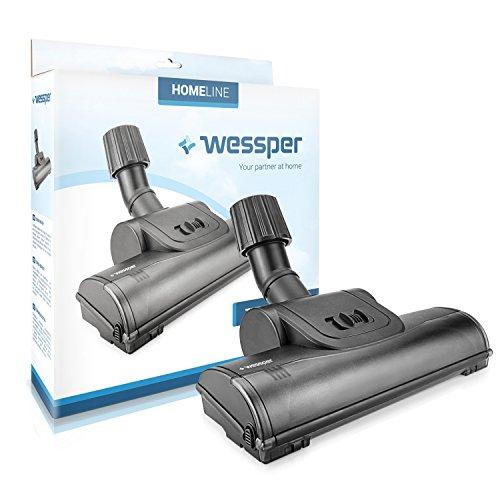 вњ§WESSPER® Turbo Brosse d'aspirateur pour Zelmer Typ 450.0 ST (ø32mm-38mm, avec des roues)