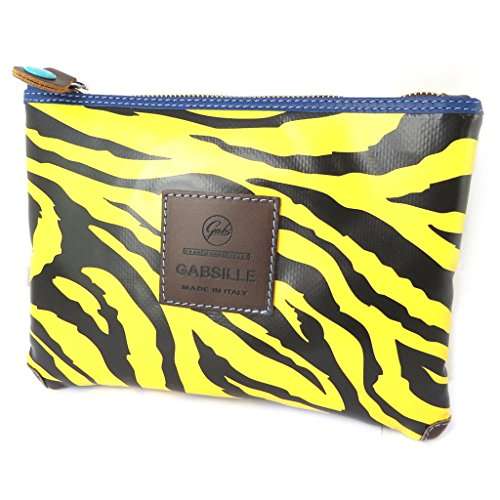 tigre 24x18x3 cm color de Bolso bolsa amarillo la negro 'Gabs'de B0Bwqpv