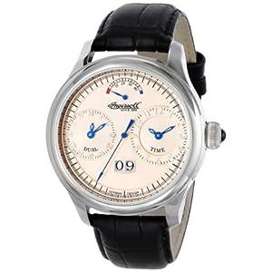 Ingersoll Men's IN3604CR Hudson Analog Display Automatic Self Wind Black Watch