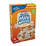 Cheap Kellogg's Breakfast Cereal, Frosted Mini-Wheats, Original, Low Fat, Excellent Source of Fiber, Family Size, 24 oz Box