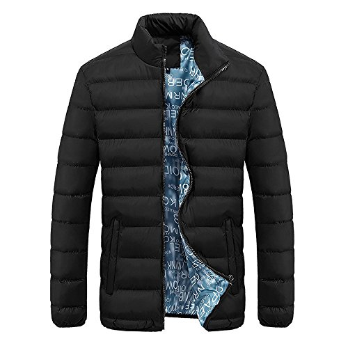 Men Jacket Down Coat Winter Warm Slim Thick Casual Premium Quality Walking Outdoors Champion Countrywear Outerwear Parka Jacket 4 Color Black