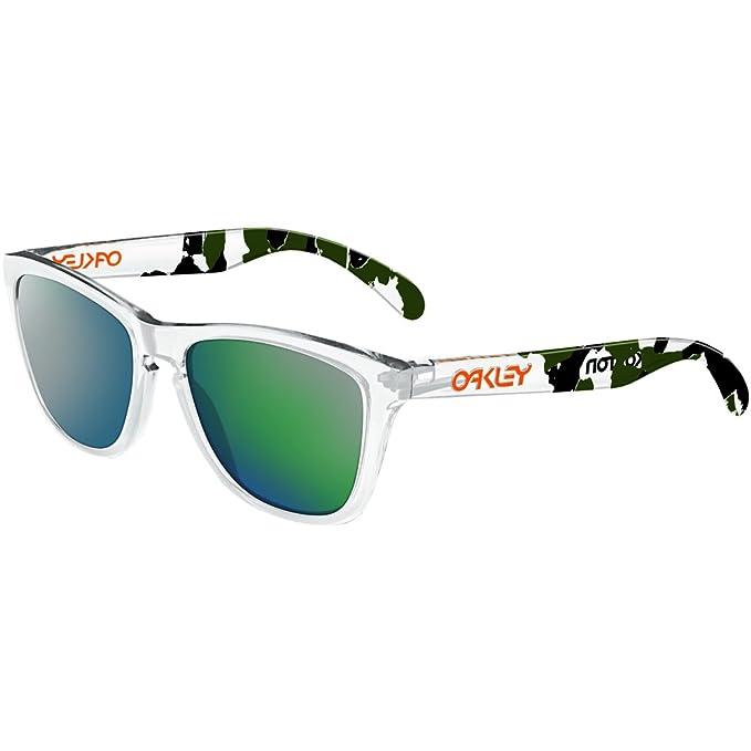 96e9a210e9 Oakley FROGSKIN - Gafas de sol para hombre: Oakley: Amazon.es: Ropa y  accesorios
