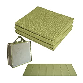 Khataland Yofo Mat - Alfombrilla Plegable para Yoga (72 x 24 ...