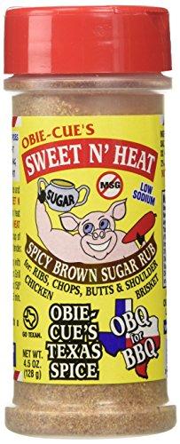 Obie-Cue's Sweet 'N Heat Spicy Brown Sugar BBQ Rub (4.5 oz)