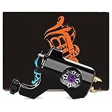 Hannea M653-1 Solong Aluminum Alloy Rotary Tattoo Motor Machine Gun with Hook Line Jack
