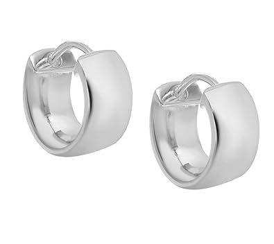 Tuscany Silver Sterling Silver Hinged Hoop Earrings p5cN13j