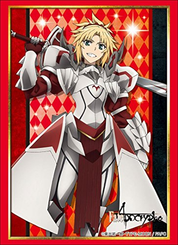 Fate/Apocrypha Mordred Saber of Red Card Game Character Sleeves Collection High Grade HG Vol.1555 Anime Art from Bushiroad